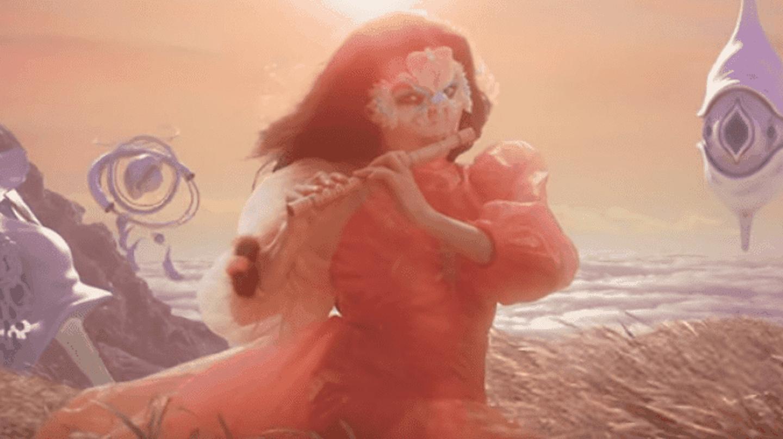 From Björk's new video, 'The Gate' | © Björk/YouTube