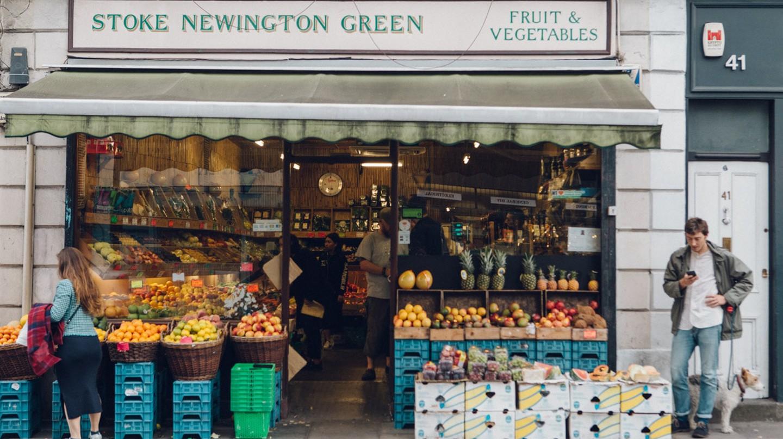 Stoke Newington greengrocer