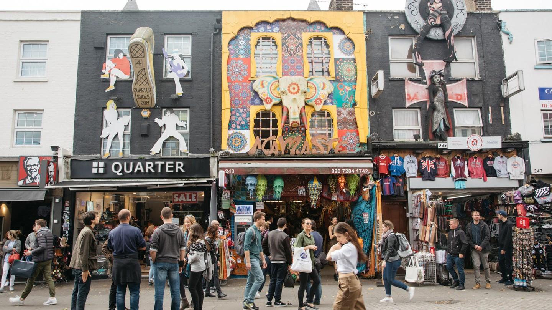 Camden high street, London