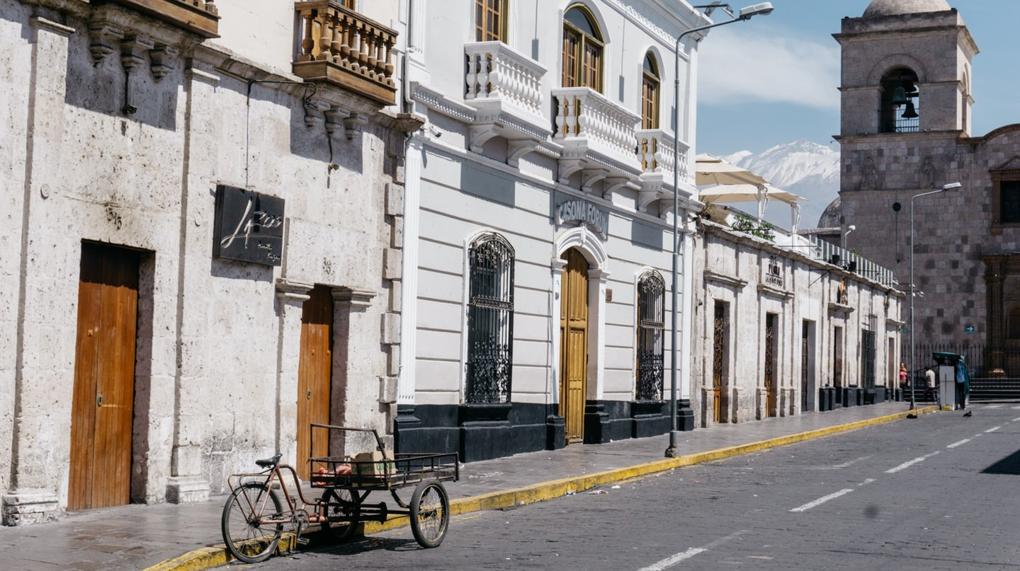 Grab a bite to eat at one of Arequipa's best restaurants before indulging in a spot of sightseeing