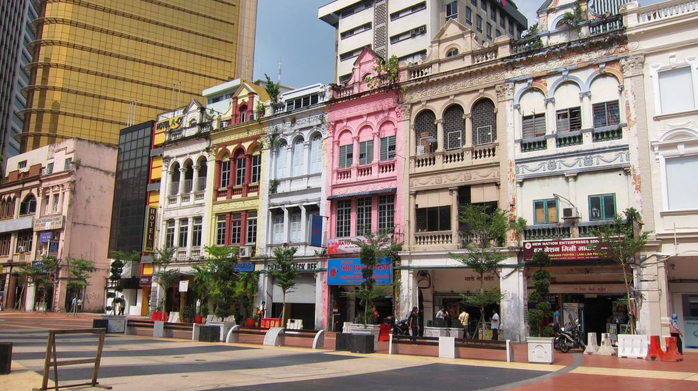 Shophouses in Jalan Hang Kasturi, Kuala Lumpur © Yun Huang Yong/Flickr