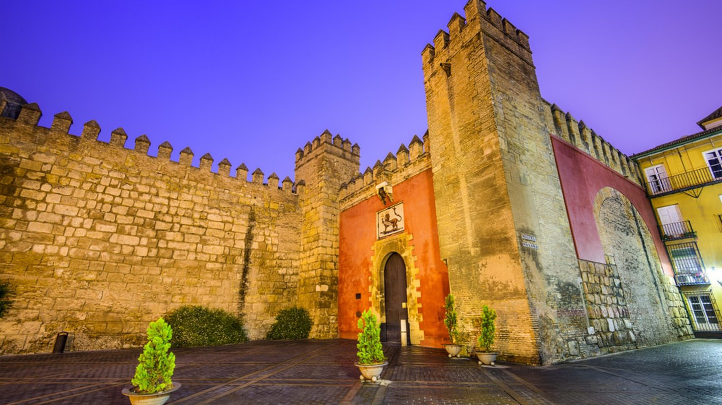 The main entrance to Seville's Alcazar palace; Sean Pavone/shutterstock