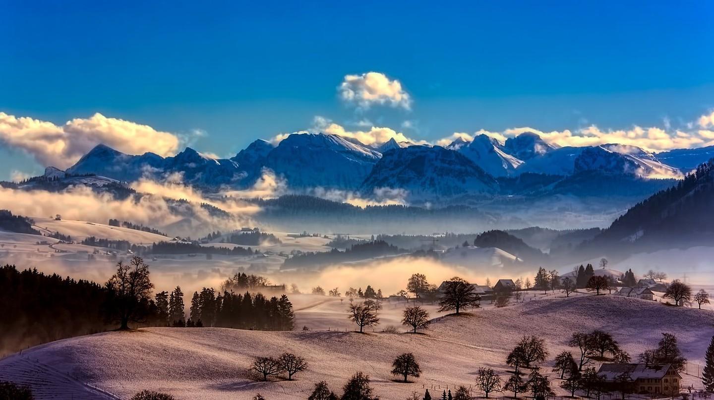 Visit Switzerland in the winter | © 12019 / Pixabay
