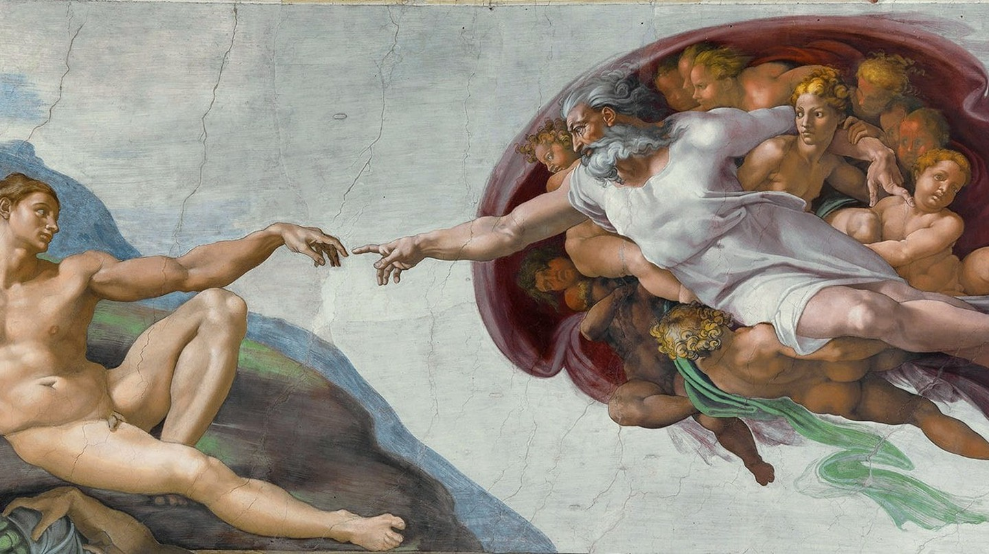 The Creation of Adam / WikiCommons