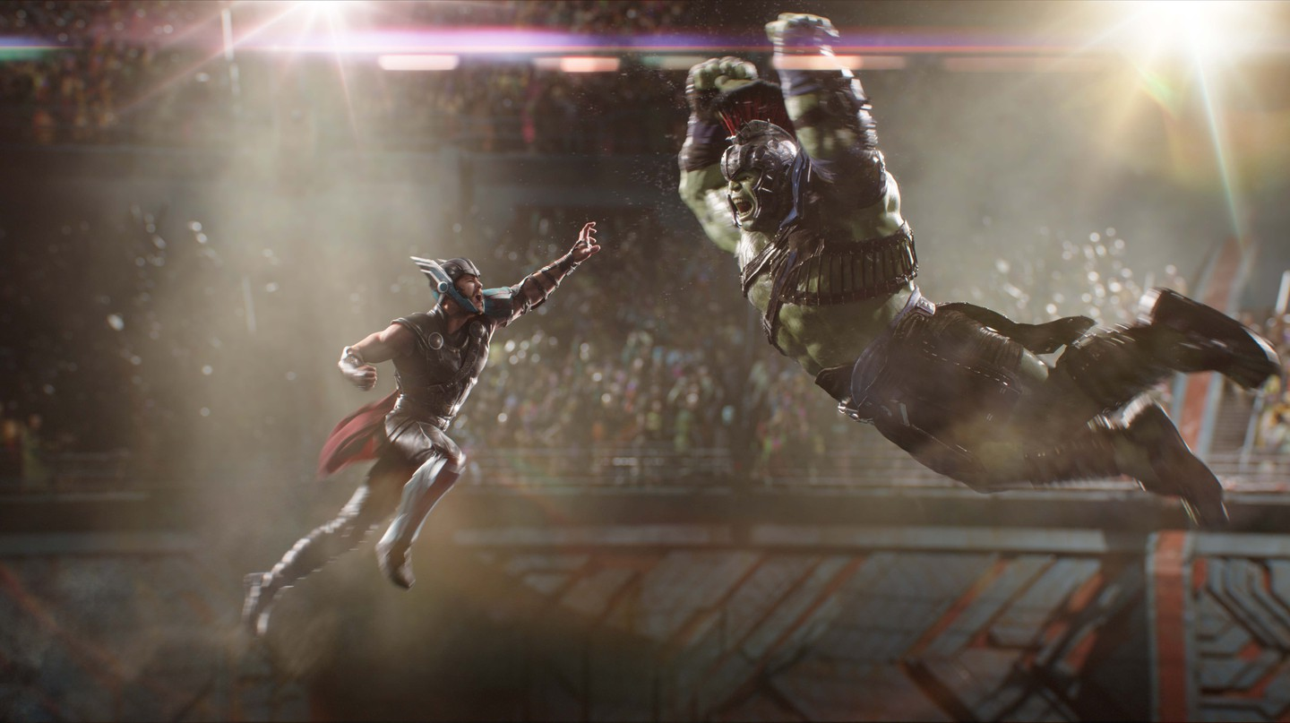 Thor (Chris Hemsworth) and Hulk (Mark Ruffalo) | © Marvel Studios 2017
