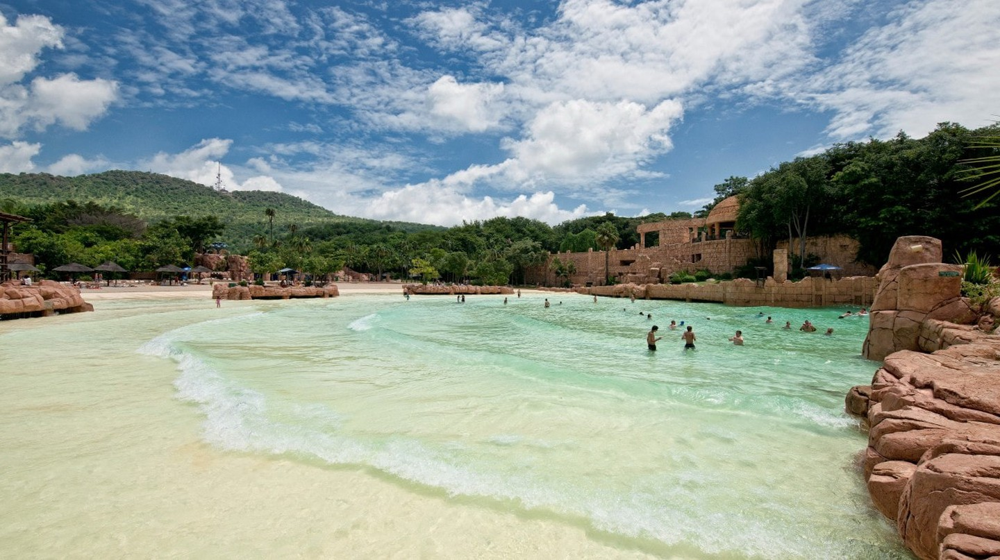 Valley of Waves at Sun City | Courtesy of Sun International