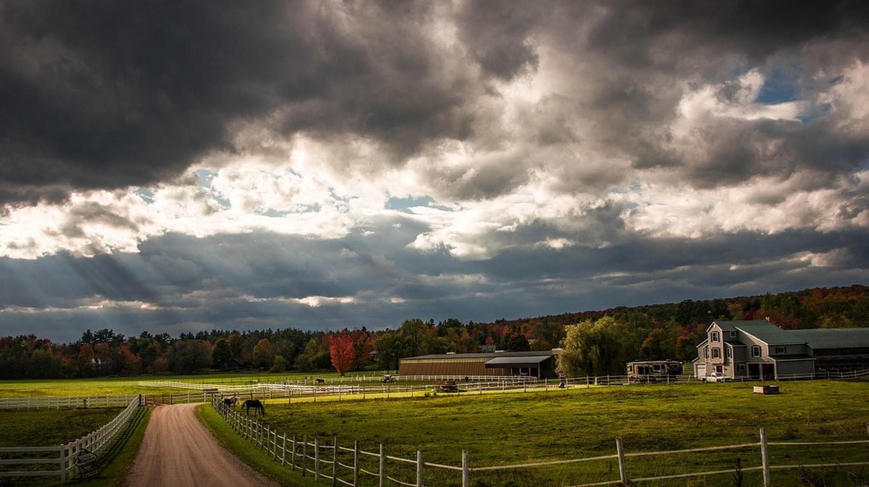Vermont Farm | © Miriamichelle/Pixabay