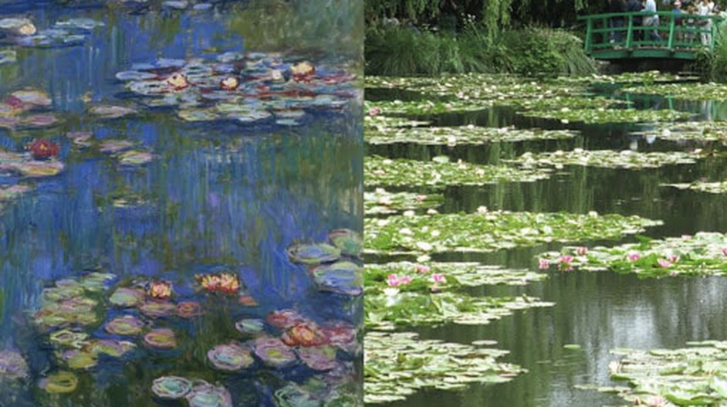 11 Beautiful Locations from Famous Paintings You Can Visit in Real Life