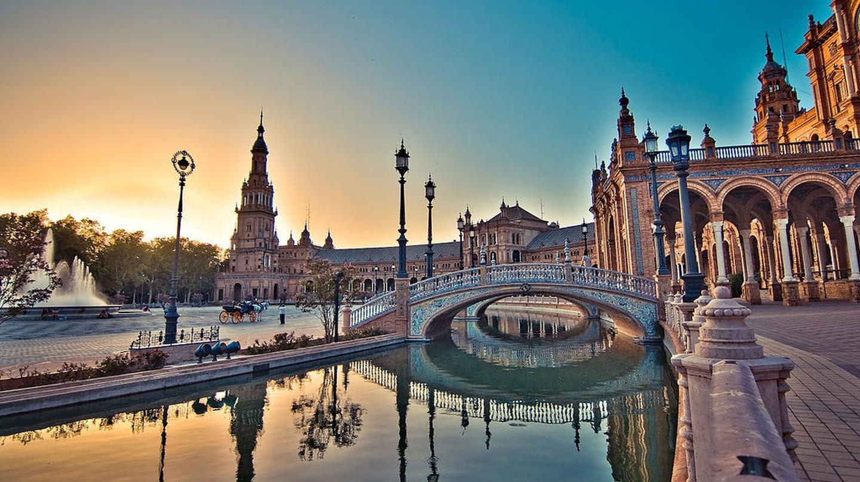 Plaza de Espana, Seville | © SkareMedia / Wikimedia Commons