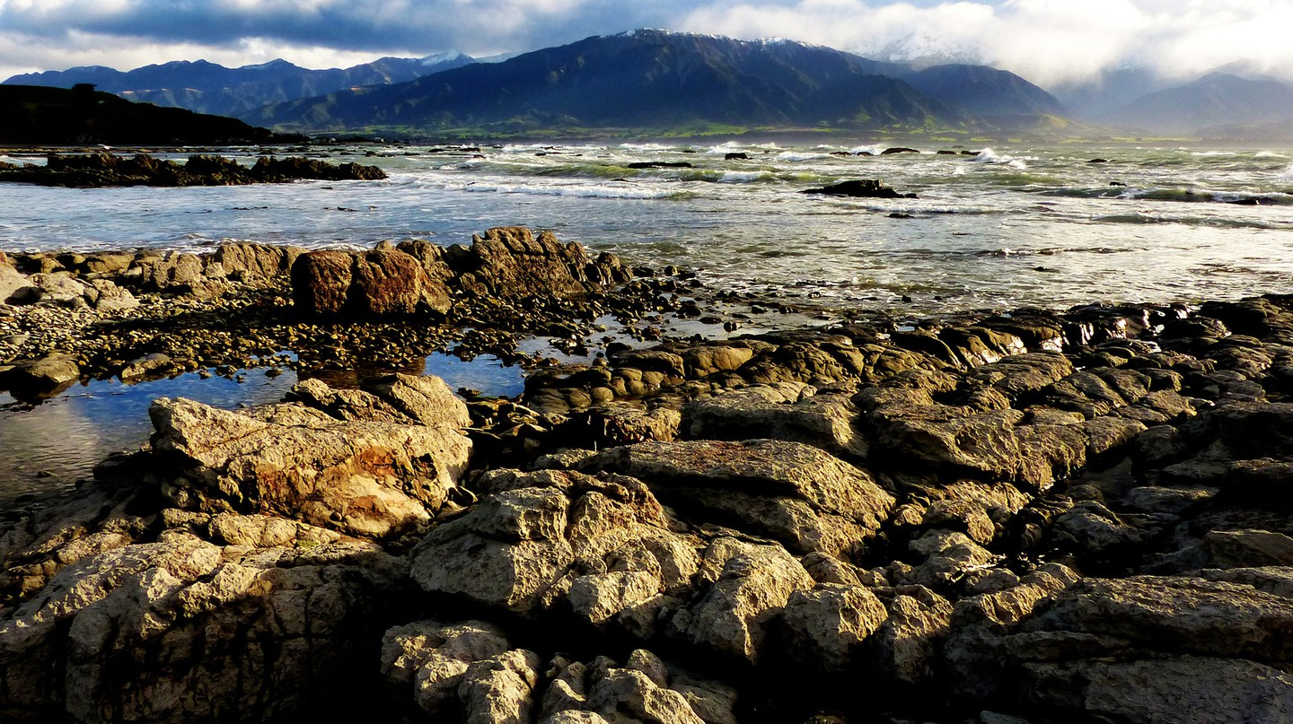 Kaikoura Seascape Before the Earthquake | © Bernard Spragg/Flickr