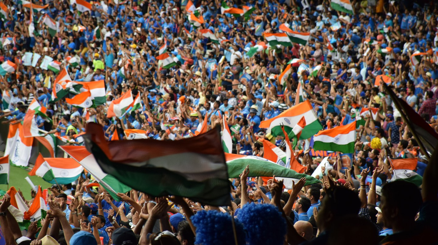 Indian fans during the 2015 Cricket World Cup | © Tourism Victoria / Flickr