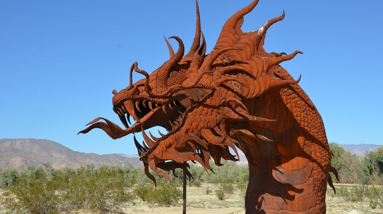 A Ricardo Breceda sculpture in Anza-Borrego | © Rob Bertholf / Flickr