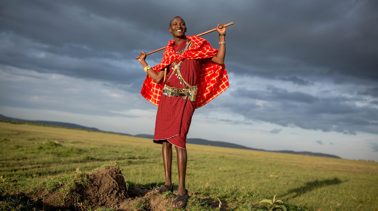 Traditional Masaai | © Make it Kenya/Flickr