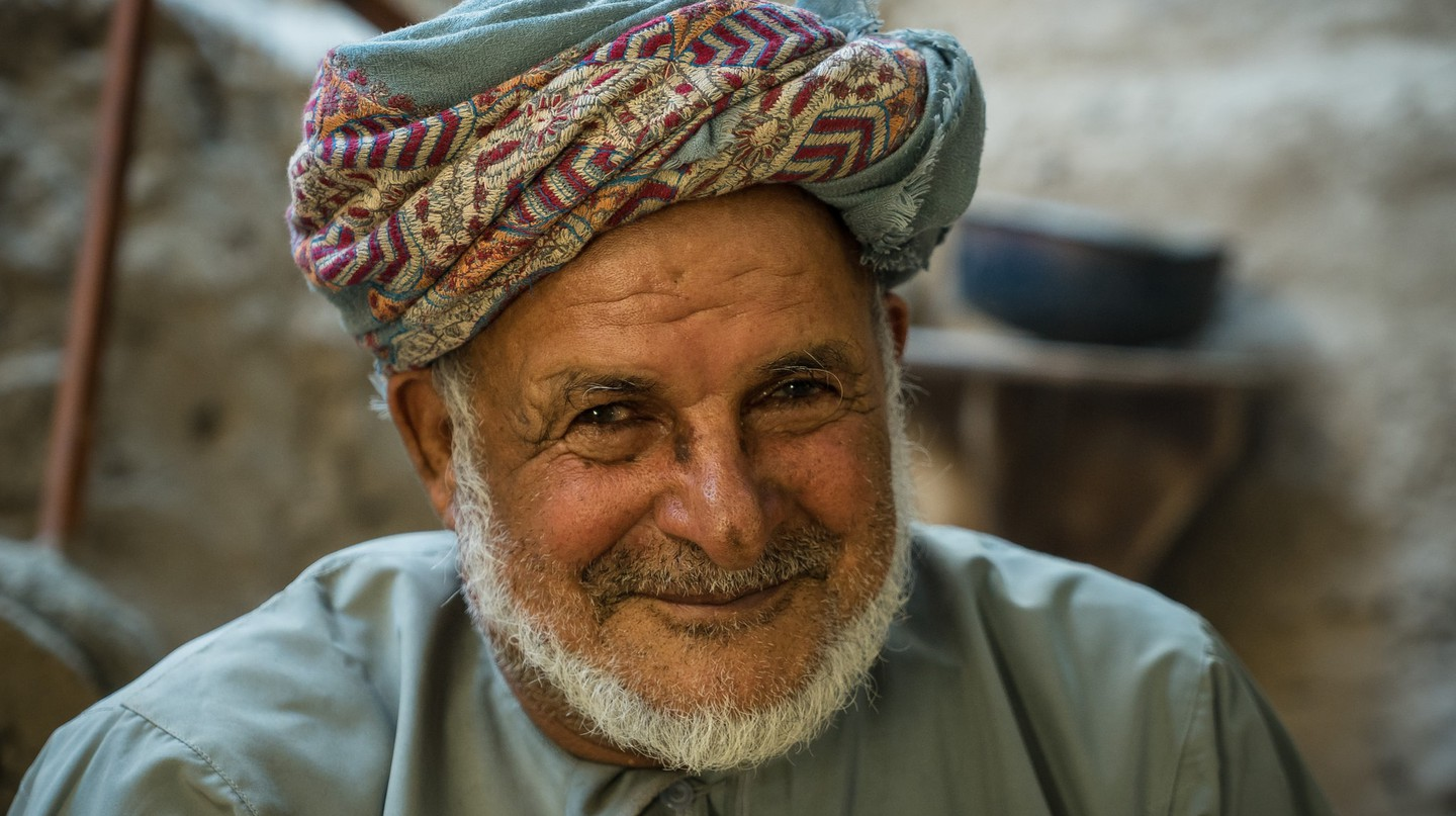 Omani Old Man | © Mark Fischer /Flickr