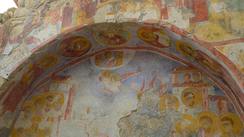 Fresco in St. Nicholas Church in Demre | © Alexander van Loon/Flickr