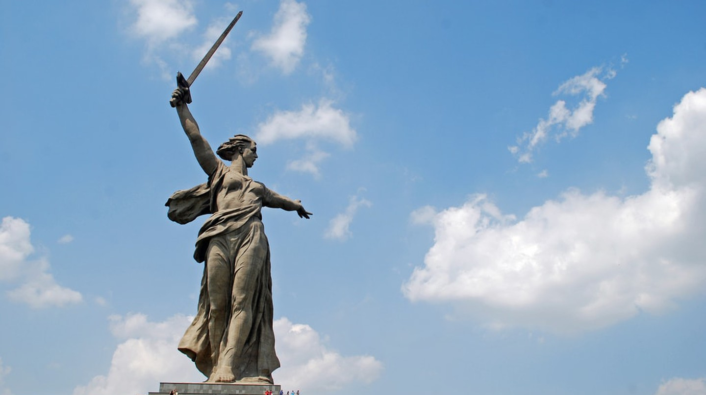 'The Motherland Calls', Volgograd