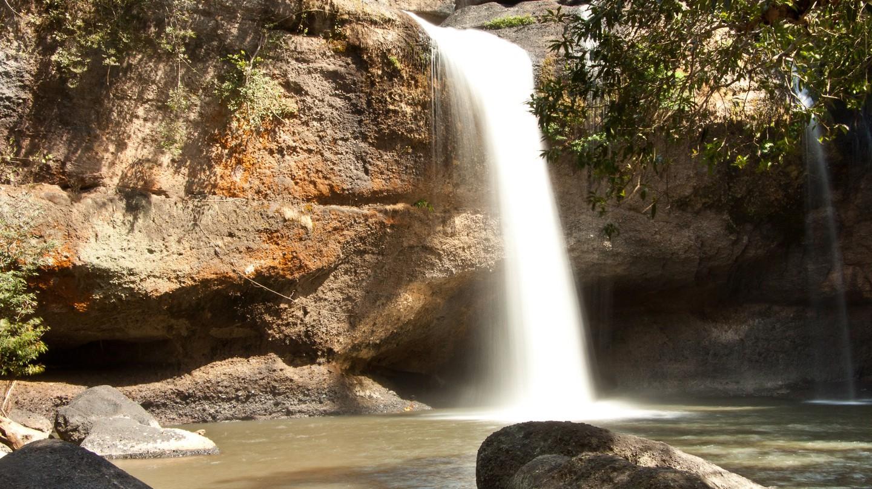 Hew Suwat waterfall, Khao Yai National Park | © Pierre Wolfer/Flickr