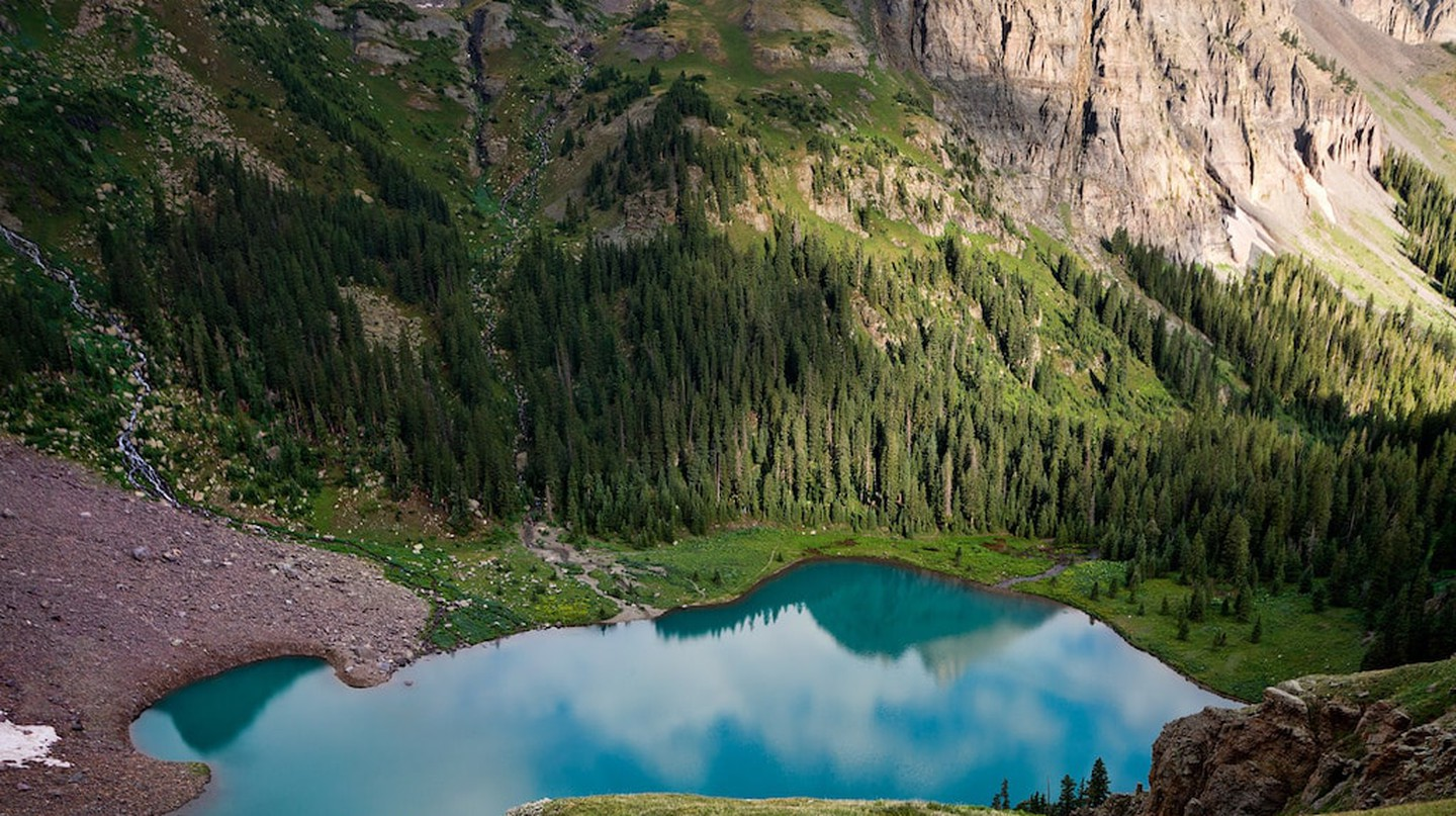 Blue Lake Basin, Mt. Sneffels Wilderness, Colorado | © Steven Bratman / Flickr