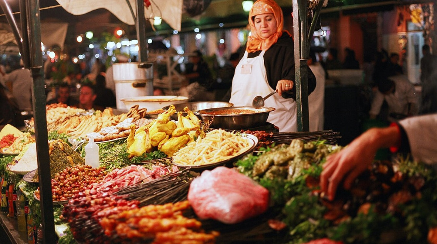 Be cautious when eating street food in Morocco | © Hyunkook Lee/Flickr