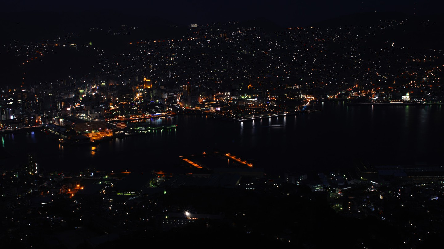 Night view of Nagasaki City | © Konstantin Leonov / Flickr