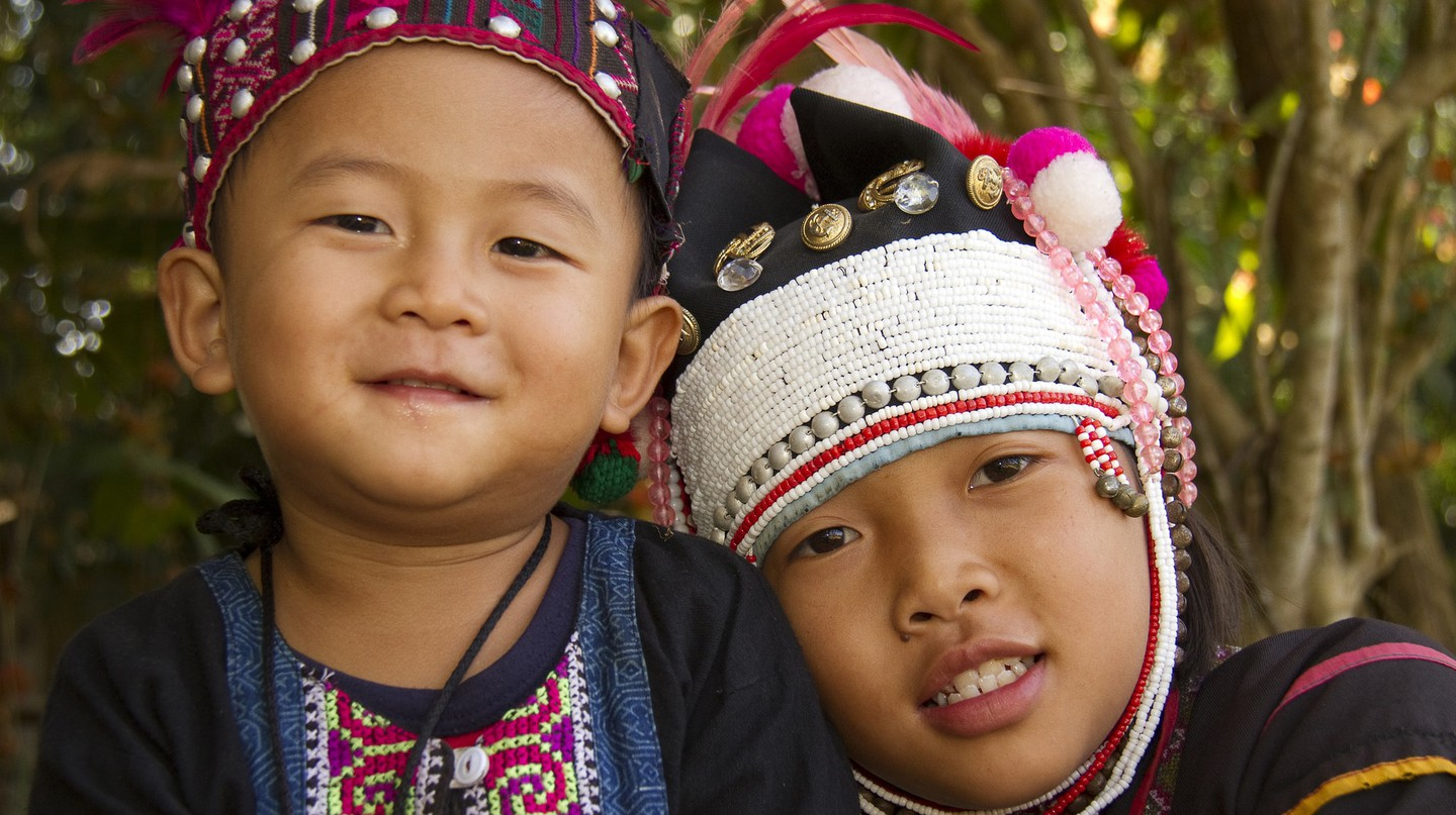 Hill tribe children, Northern Thailand | David Dennis/Flickr