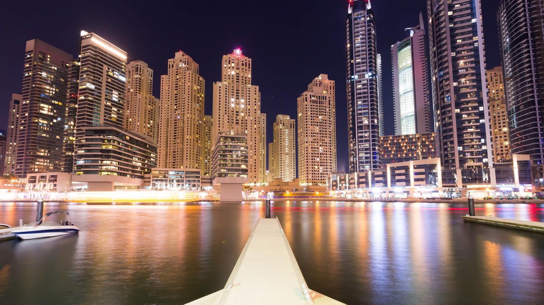 The view of Dubai Marina   ©Tom Sespene / Flickr