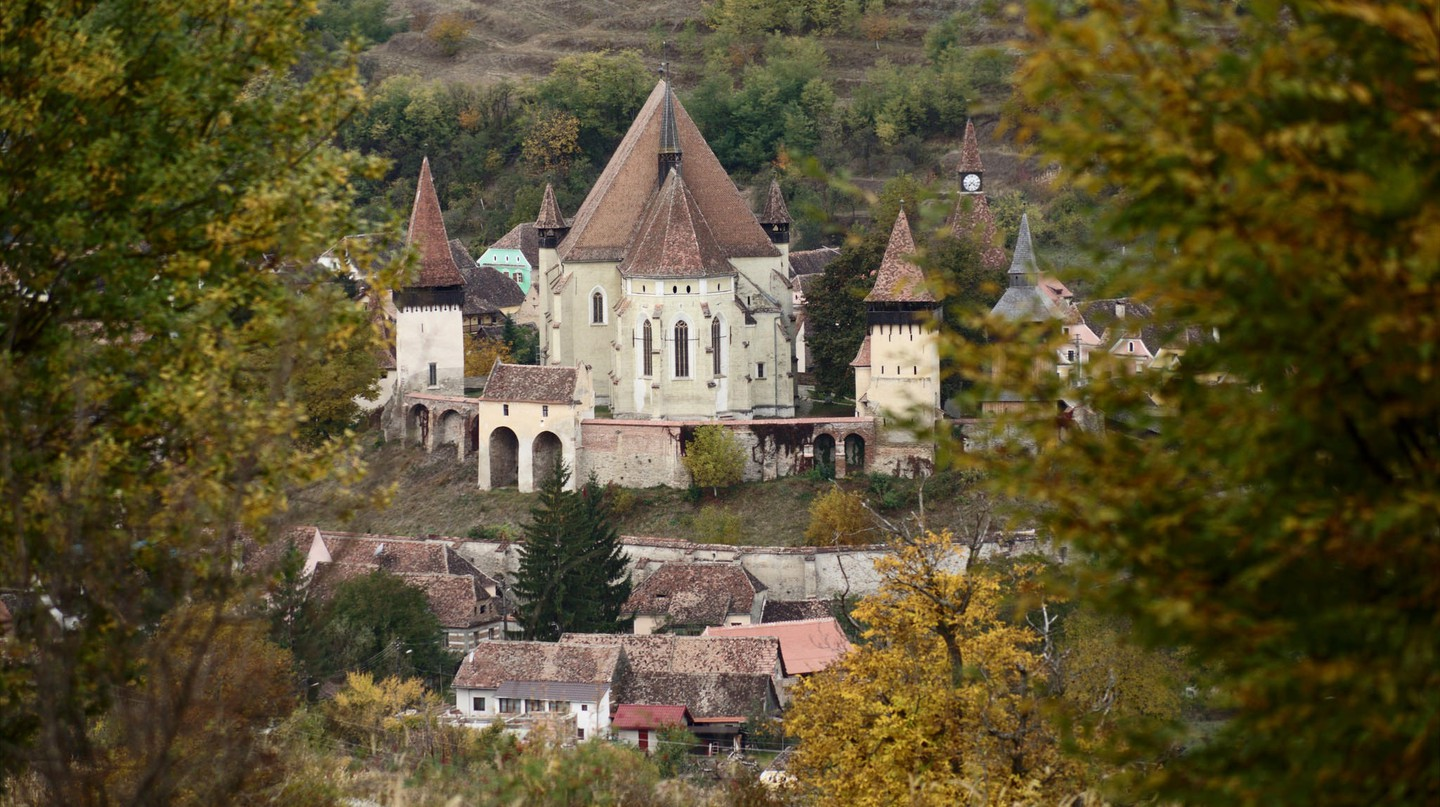 Fortified church in Biertan, Transylvania © Swithun Crowe/ Flickr