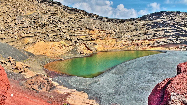 El Golfo Green Lake | © jorgelopa / Pixabay