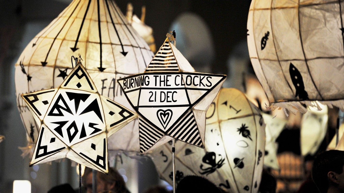 Burning the Clocks: The Story Behind Brighton's Winter Solstice Tradition