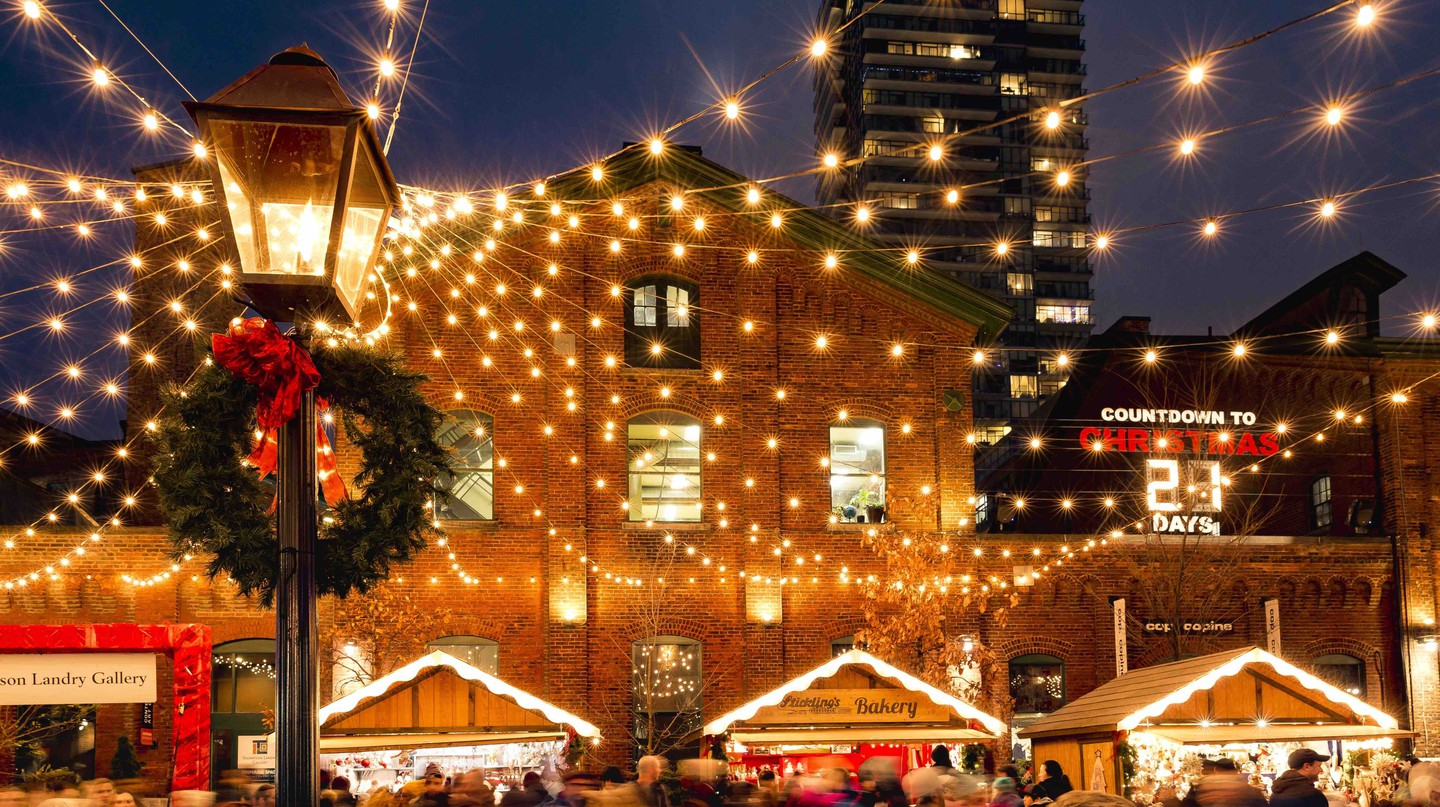 Christmas Lights | Courtesy of Toronto Christmas Market