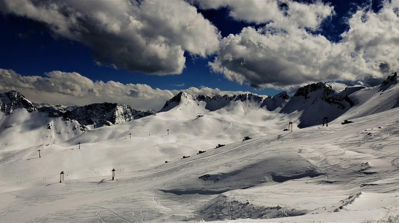 Ski slopes of Zugspitze | © RoAll / Pixabay