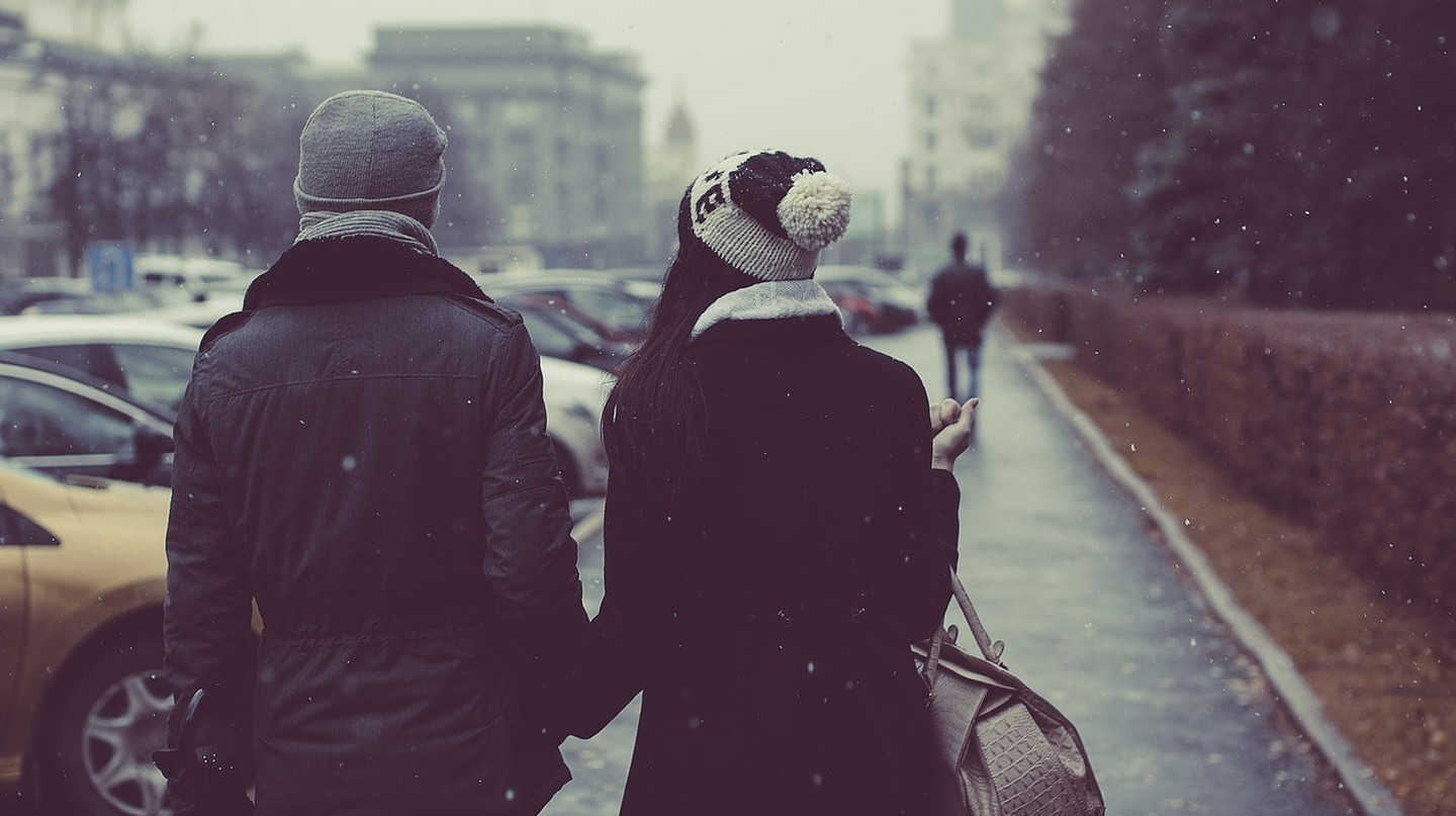 Couple in Berlin Winter | © StockSnap/Pixabay