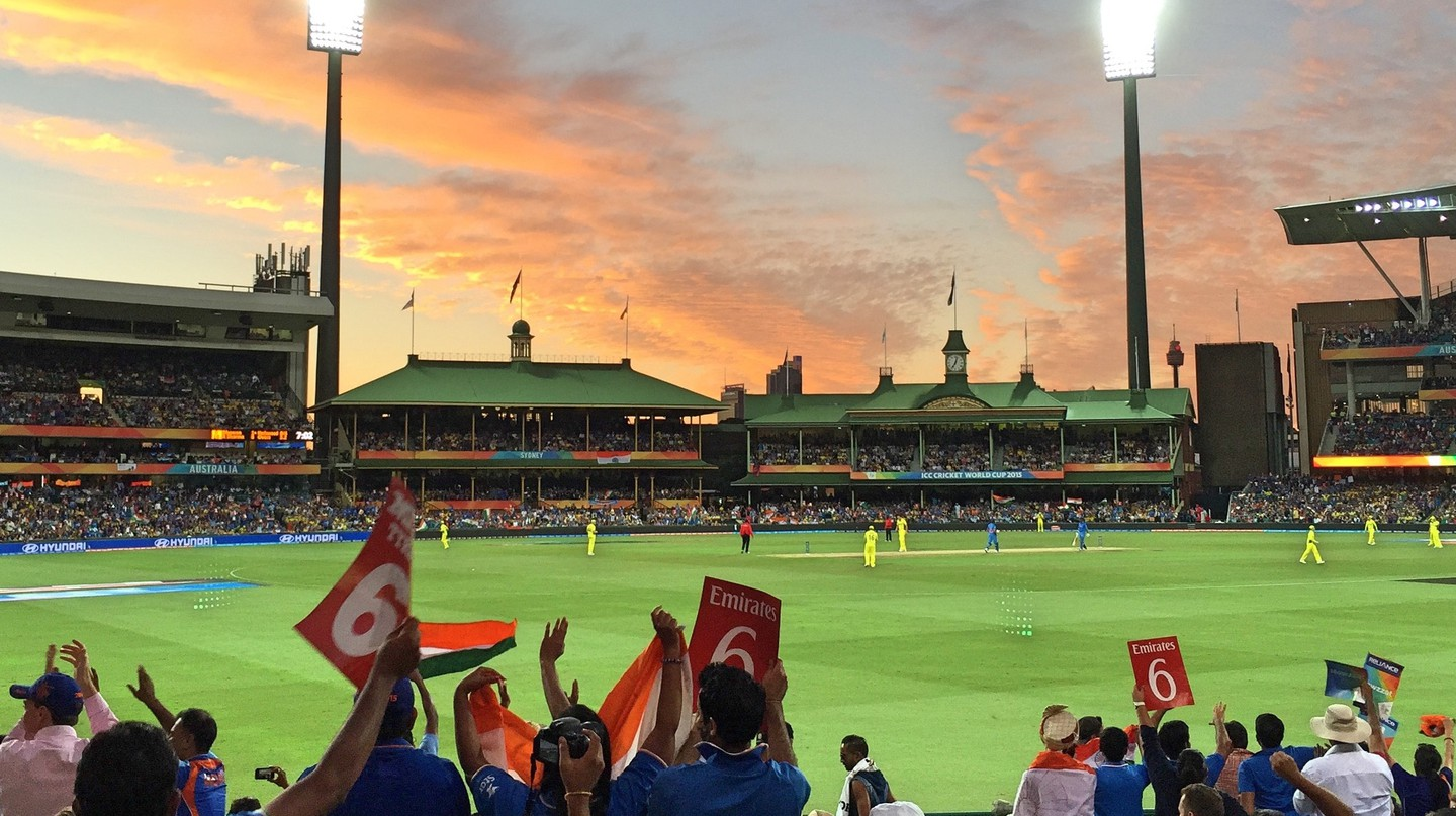 Cricket World Cup semi-final at the Sydney Cricket Ground | © Tom Smith