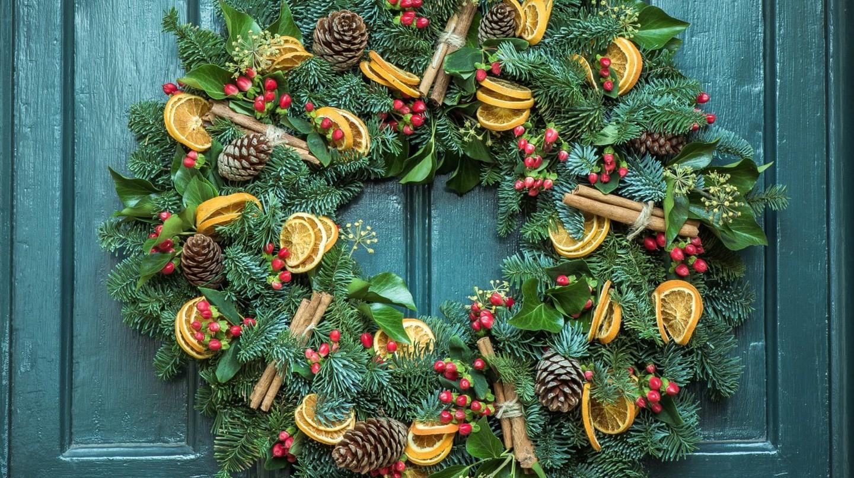 Christmas wreath | ©Jez Timms / Good Free Photos
