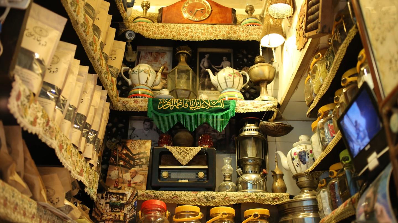 Haj Ali Darvish is the tiniest teahouse | © Pontia Fallahi