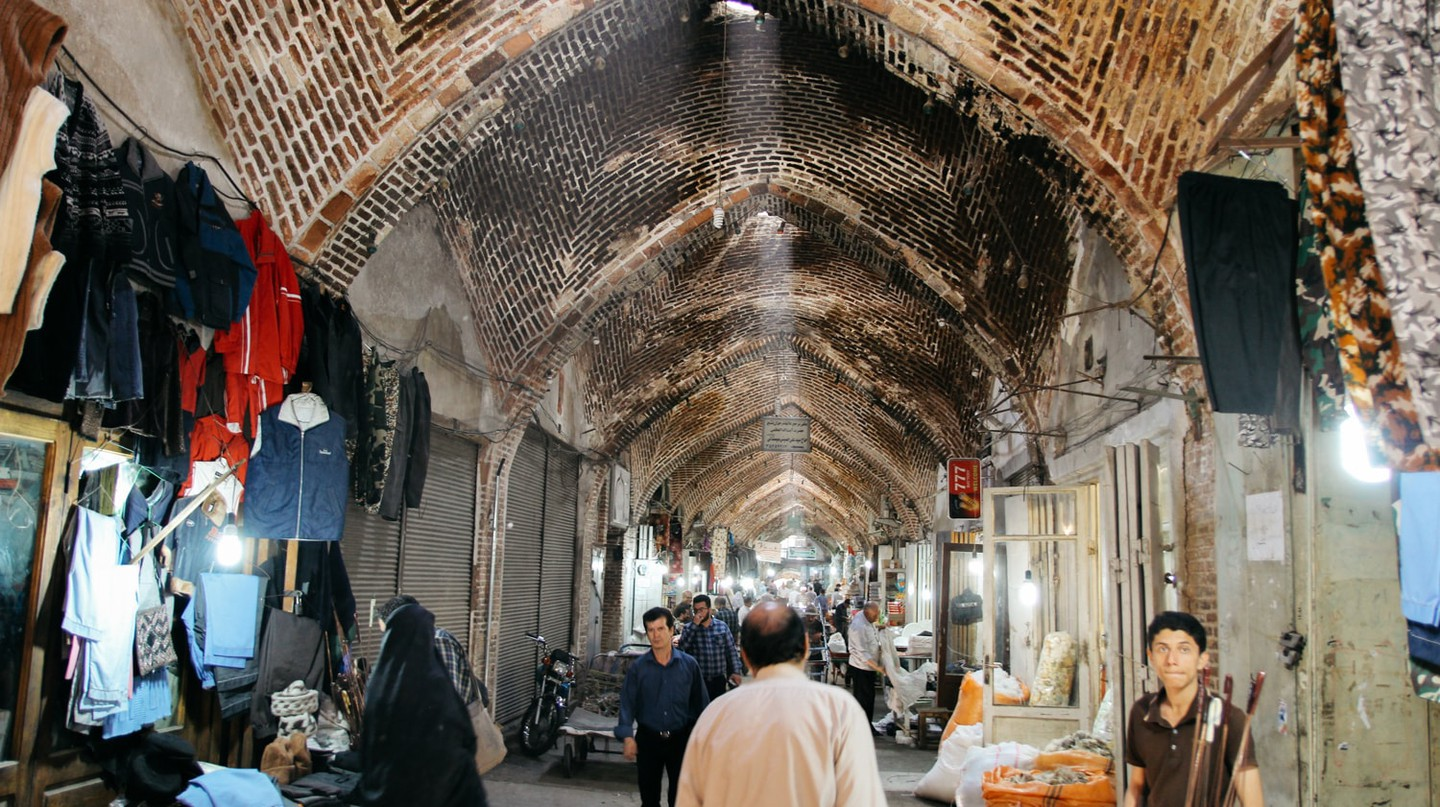A Walk Through Iran's Historic Tabriz Bazaar