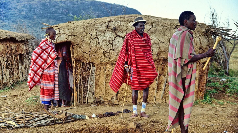 A traditional Masaai hut | © gin/Pixabay