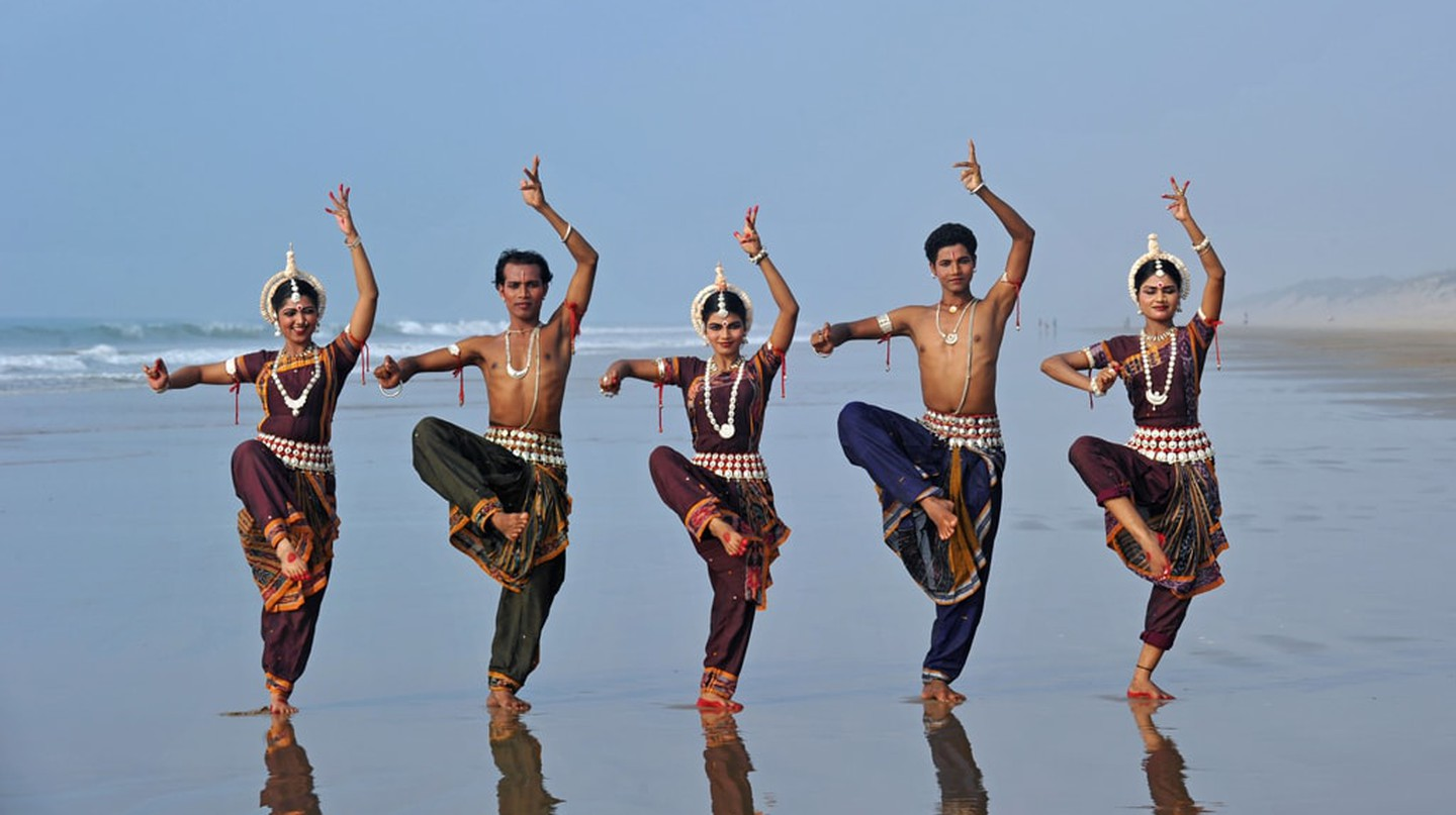 A group of dancers perform Odissi, one of India's classical dance forms | © Majority World / REX / Shutterstock