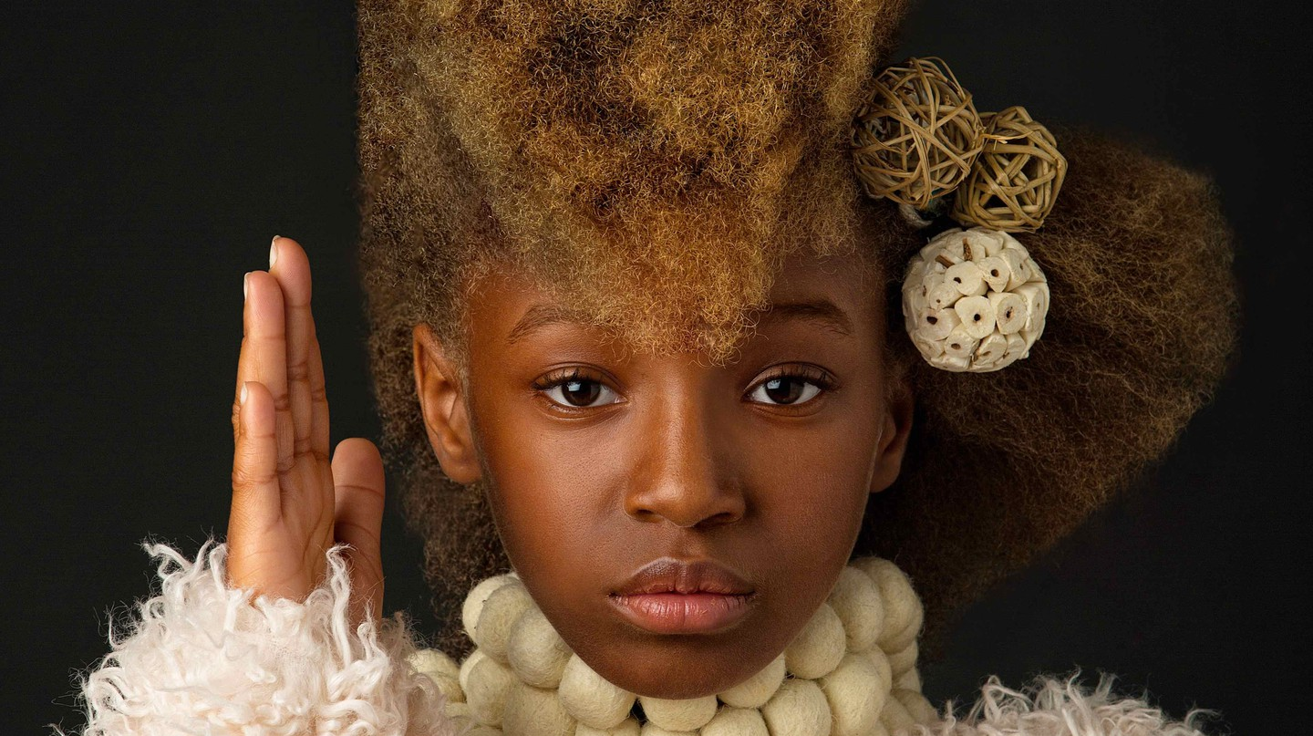 Baroque-Inspired Portrait Series Celebrates Black Girls' Natural Beauty