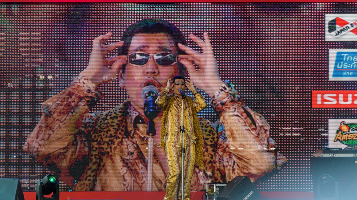 Pikotaro performs live at the Japan Expo in Thailand   © Tofudevil / Shutterstock
