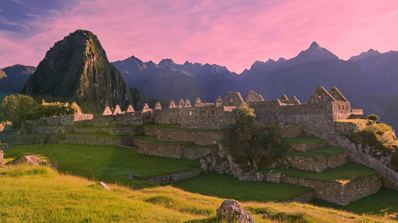 A sunset over Machu Picchu   © PixieMe / Shutterstock