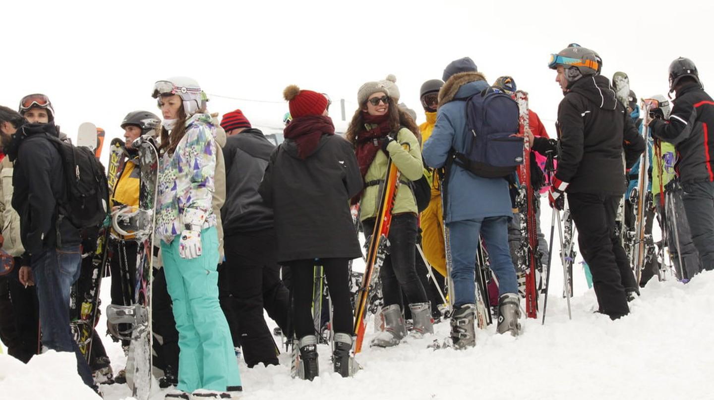 Skiing in Sinaia