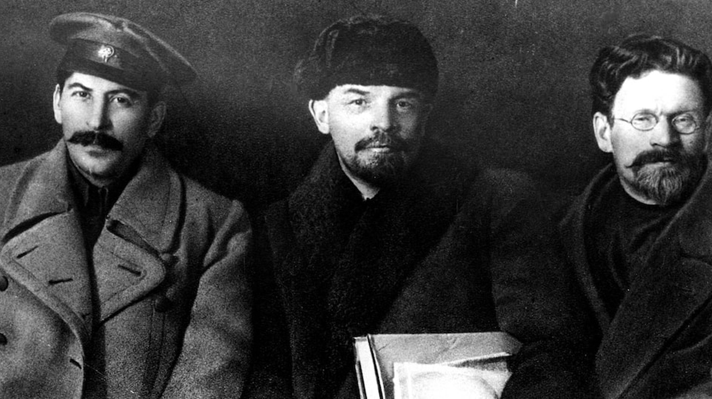 Stalin, Lenin and Kalinin, 1919