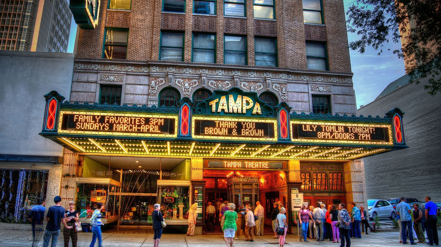 Tampa theatre exteriors | Courtesy of Tampa Theatre