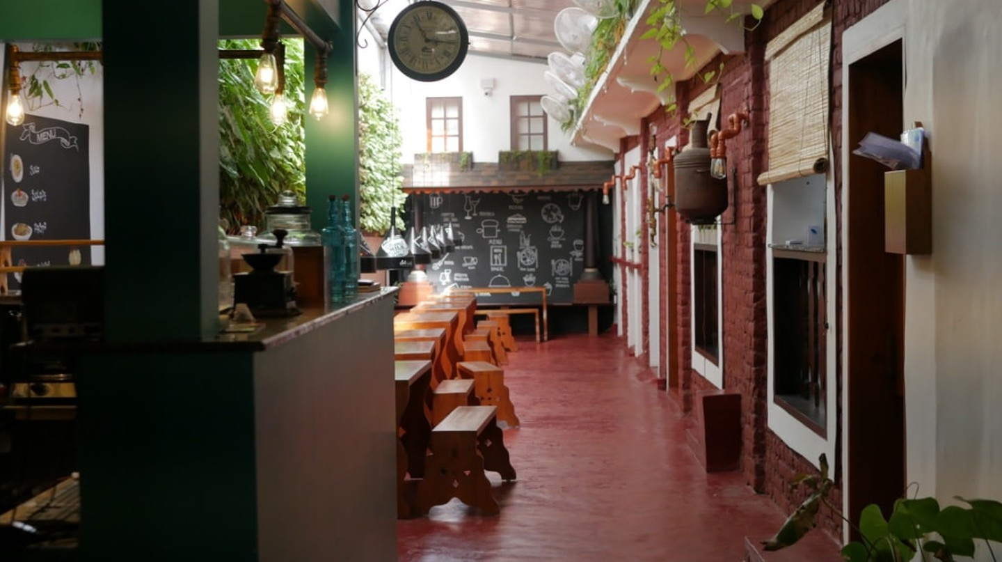 Kerala's Newest Art Café in Kochi has a 300-Year-Old Story to Tell