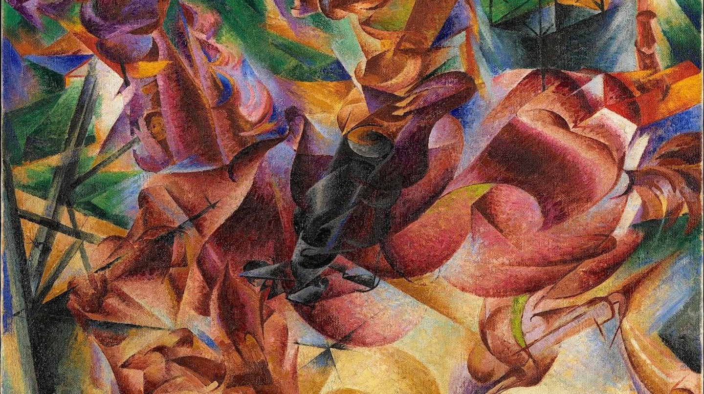 Umberto Boccioni, 'Elasticity' (1912) at Museo Novecento | © Comune di Milano – all rights reserved