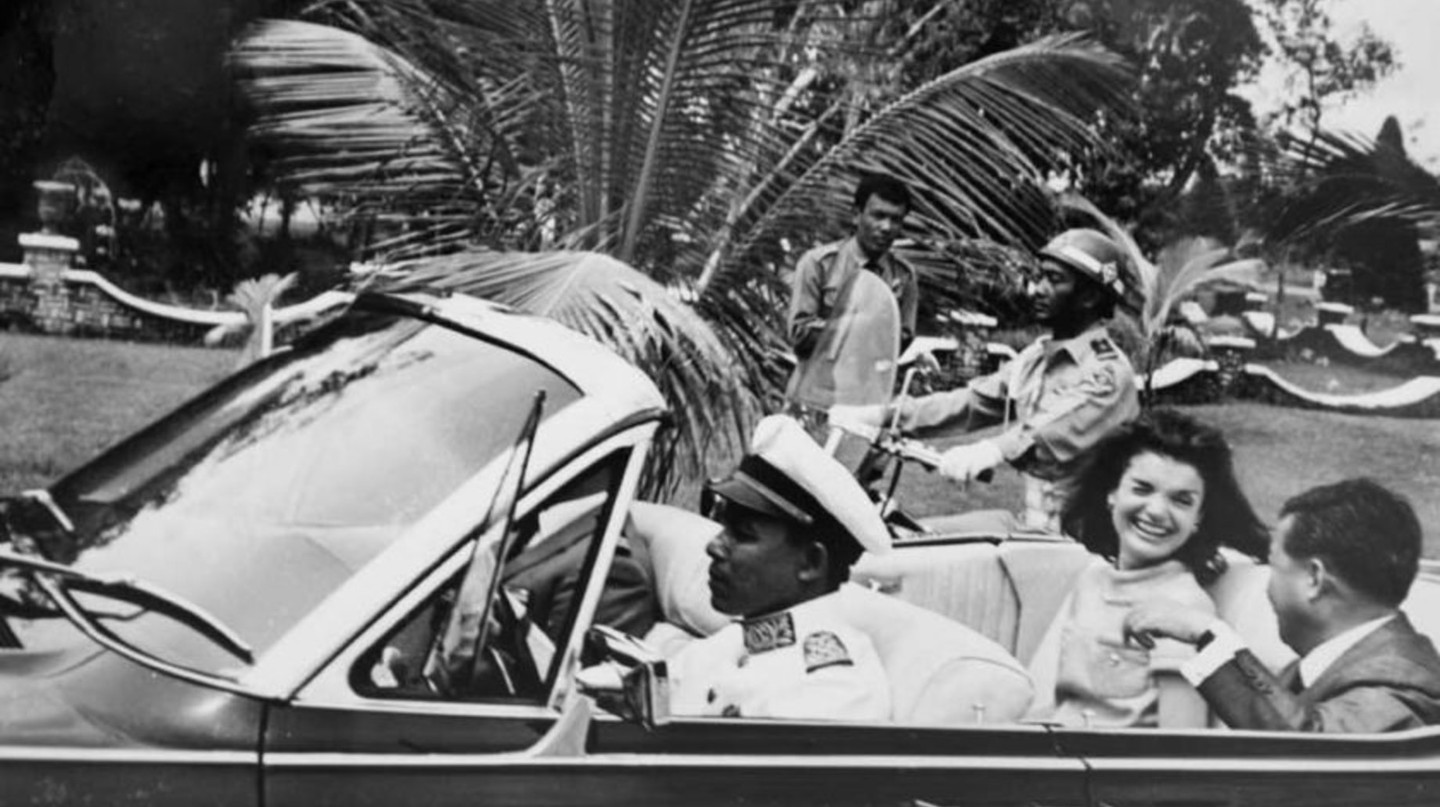 Jacqueline Kennedy in Cambodia @ National Archives