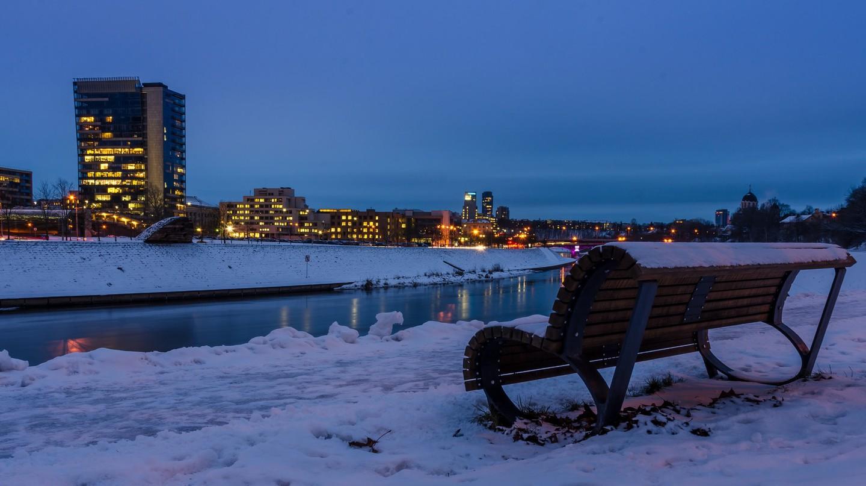 Winter in Vilnius  ©Mantas Volungevicius/Flickr
