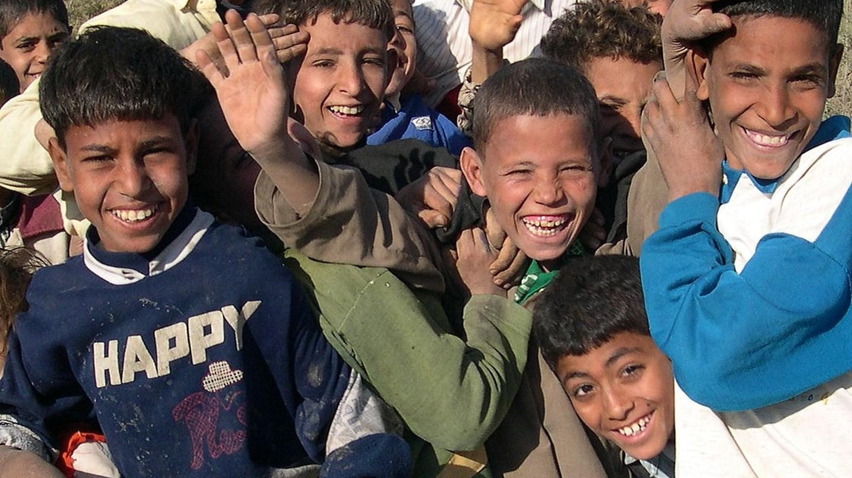 Egyptian children laughing in Cairo | © Mohammed Shamma/Flickr