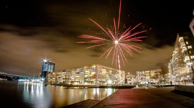 New Year's Fireworks in Stockohlm   © Benjamin Horn / Flickr